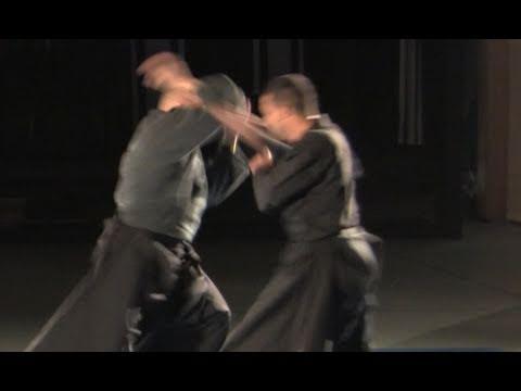 Advanced shoulder lock, Ura oni kudaki, in sparring - Ninjutsu technique for Akban wiki