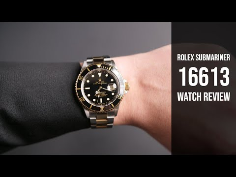 Pre-Owned Rolex Submariner 16613 Steel & Gold Watch Review | Bob's Watches