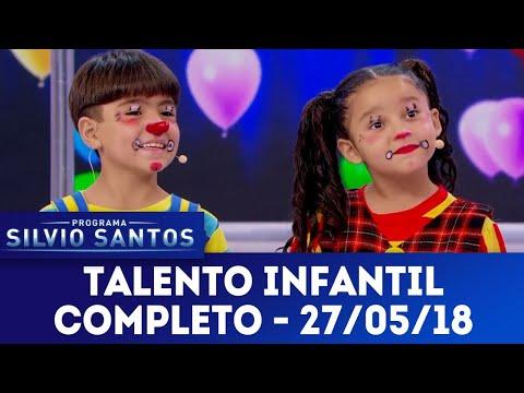 Talento Infantil - Completo | Programa Silvio Santos (27/05/18)