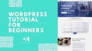 WordPress Tutorial for Beginners 2019 NEW