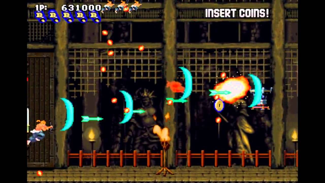 Sengoku Blade/Tengai MAME Arcade No Deaths 1-ALL - YouTube