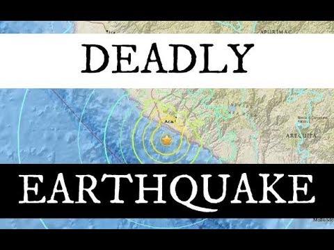 GSM UPDATE Earthquake SouthernPeru - The Grand Solar Minimum Channel #GSM