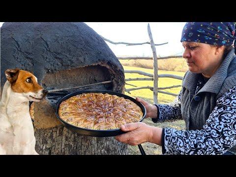 Paxlava Hazırladıq, Traditional Azerbaijani Baklava, Outdoor Cooking