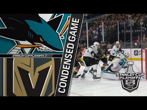 05/04/18 Second Round, Gm5: Sharks @ Golden Knights