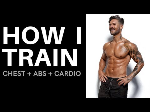 HOW I TRAIN – Chest + Abs + Cardio Workout By Men's Health Cover Guy