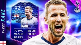 WORTH THE COINS?! 92 TOTGS HARRY KANE REVIEW! FIFA 20 Ultimate Team