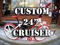 """CUSTOM SE 24"""" CRUISER @ Harvester Bikes #HARVESTERCUSTOM"""