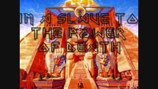 Gambar cover Iron Maiden-Powerslave (Lyrics)