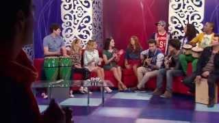 """Виолетта 3 - Ребята поют """"Ven Y Canta"""" на телепередаче - эпизод 3"""