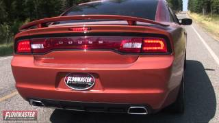 2011 2014 dodge charger performance exhaust system kit flowmaster force ii cat back 817543