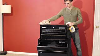 Craftsman 1000 Series Tool Chest Unboxing and Assembly