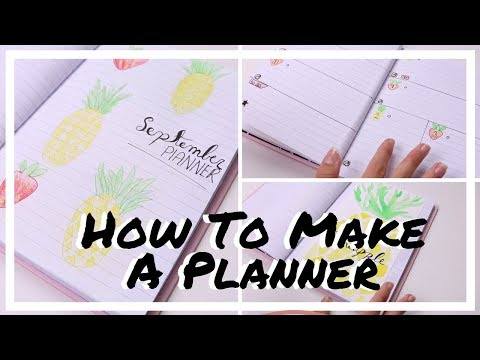 How To Make A Planner | R O S A L I E