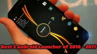 Top 5 Best Launchers for Android 2016 - 2017 | Android Lover