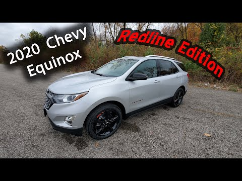 2020 Chevy Equinox REDLINE EDITION - Premier 2.0L Turbo - Full Review & Walk Around