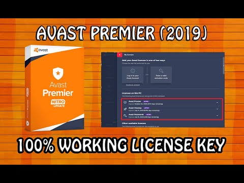 Avast Premier 2019 License Key Till 2050 100 Working By A R Tech
