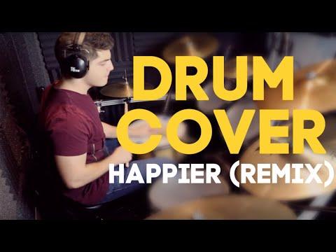 drum-cover-|-marshmello-ft.-bastille---happier-(hikeii-remix)