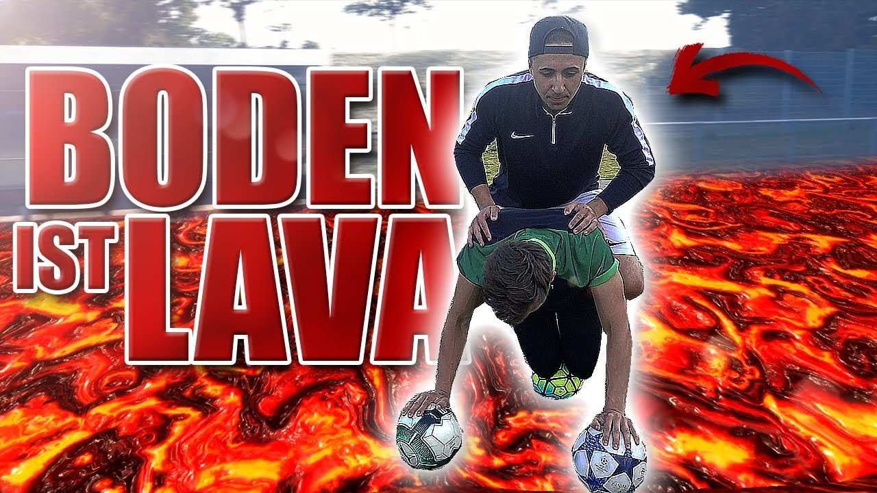 Boden ist lava fu ball edition youtube for Boden ist lava
