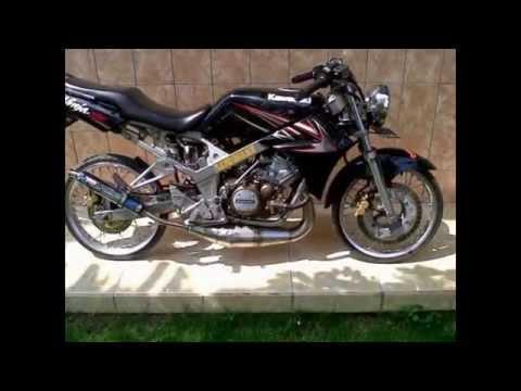 Modifikasi motor Kawasaki Ninja 150 SS