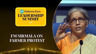 Farmer protest: Will govt make MSP law? FM Nirmala answers #HTLS2020