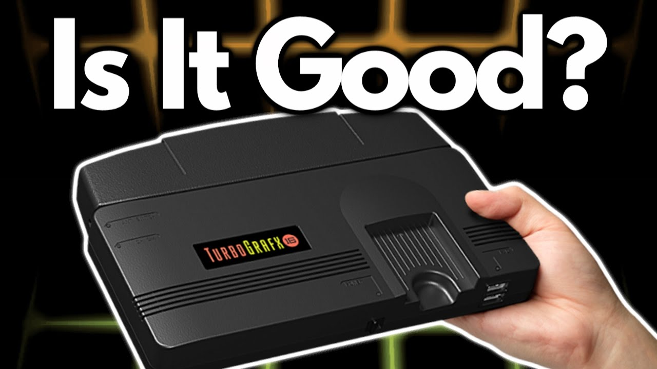 Turbografx 16 Mini Announced! Will it be good? - Game & Respawn