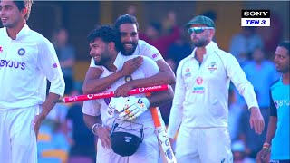 Winning Moments of Team India from the Gabba Test | Aus vs Ind on Sony