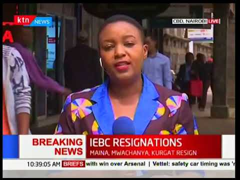 Details to why IEBC Commissioners exit office after CEO Ezra Chiloba's forced suspension