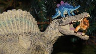 УЖАСЫ В ДРЕМУЧЕМ ЛЕСУ! Динозавры, мультики для детей с игрушками. Видео игрушки