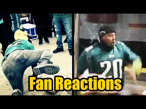 Fan Reactions To The NFC Championship