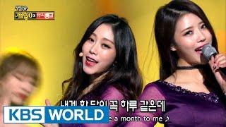 Lovelyz - Destiny | 러블리즈 - 나의 지구 [Music Bank / 2016.12.23]
