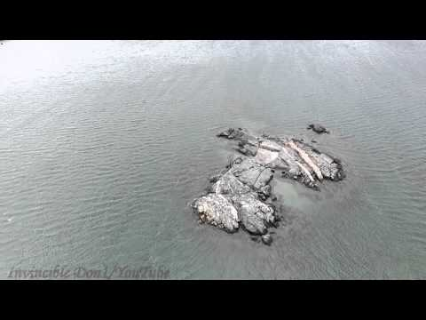 Drone at City Island / Orchid Beach, Bronx New York City