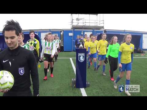 MATCH HIGHLIGHTS | Kent U15 Girls Youth Cup 2020 | Kings Hill FC Vs Langton Green