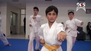 تمرين كاراتيه في نادي اليرموك الرياضي Karate training in ALYarmouk club Kuwait 5/1/2016