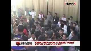Pilkada 2015, Ricuh Debat Calon Gubernur Riau - iNews Pagi 25/11