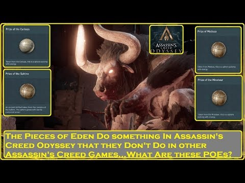 Assassin's Creed Odyssey- What are the Pieces of Eden? thumbnail