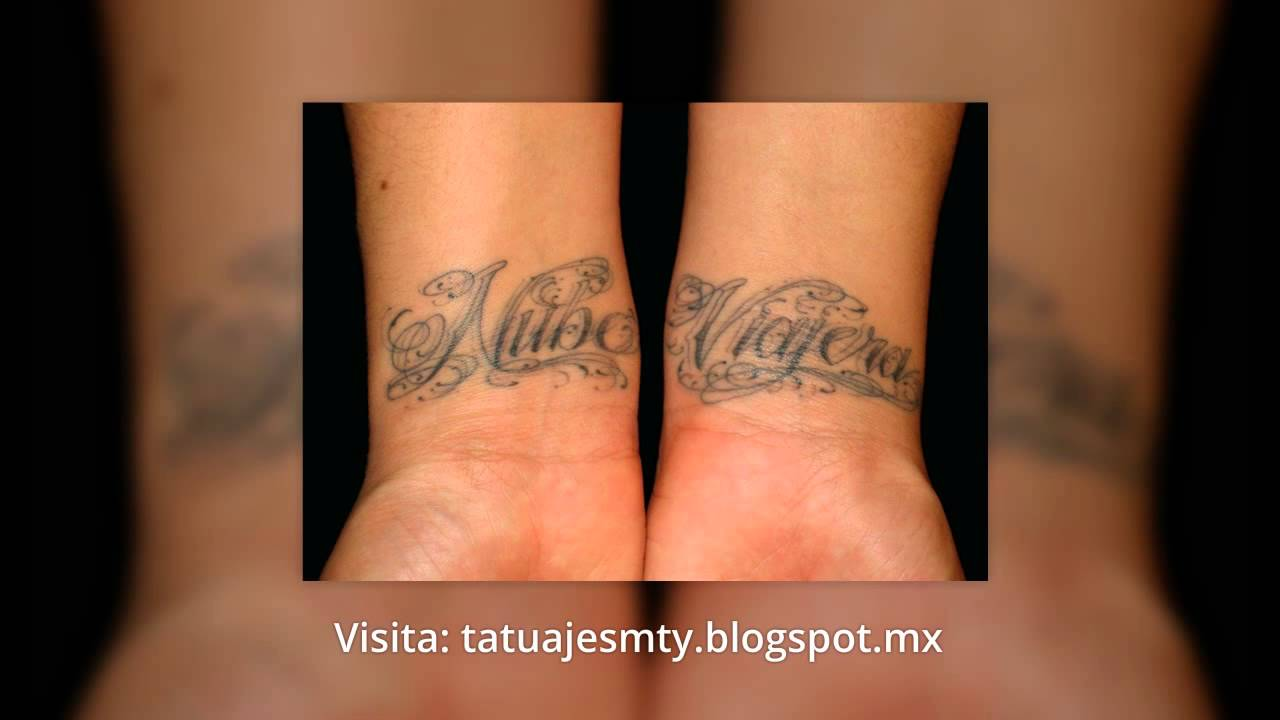 Tatuajes De Nombres Diseños Chidos Youtube
