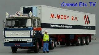Tekno DAF 2800 + Reefer 'Mooy' by Cranes Etc TV