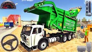 Trash Dump Truck Driver - Garbage Truck Simulator 2020 - Android GamePlay screenshot 3