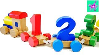 Number Train | Learn To Count | 123 | Counting For Kids