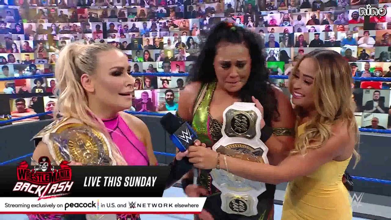 [VIETSUB] Tamina lần đầu dành chức vô địch sau 11 năm tại WWE