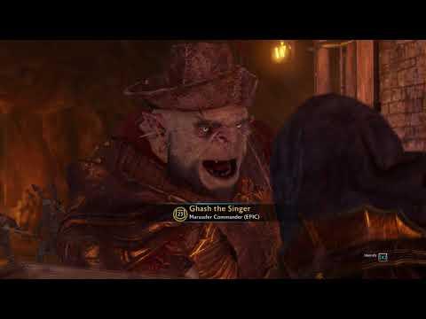 Ghash The Singer #Gaming #ShadowofWar