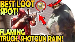 BEST LOOT LOCATION - FLAMING TRUCK + SHOTGUN RAIN! ( State of Decay 2 Gameplay Part 17 )