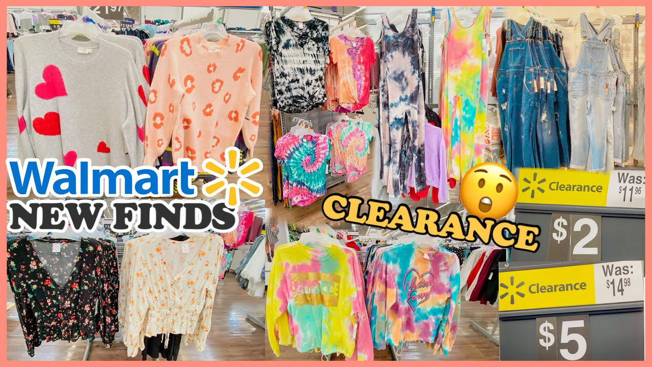 WALMART SHOP WITH ME❤️NEW WALMART CLOTHING FINDS AND CLEARANCE FOR AS LOW AS $2 $5