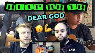 ALIP BA TA - DEAR GOD ( Avenged sevenfold fingerstyle cover ) 😳😳😳😳 reaction