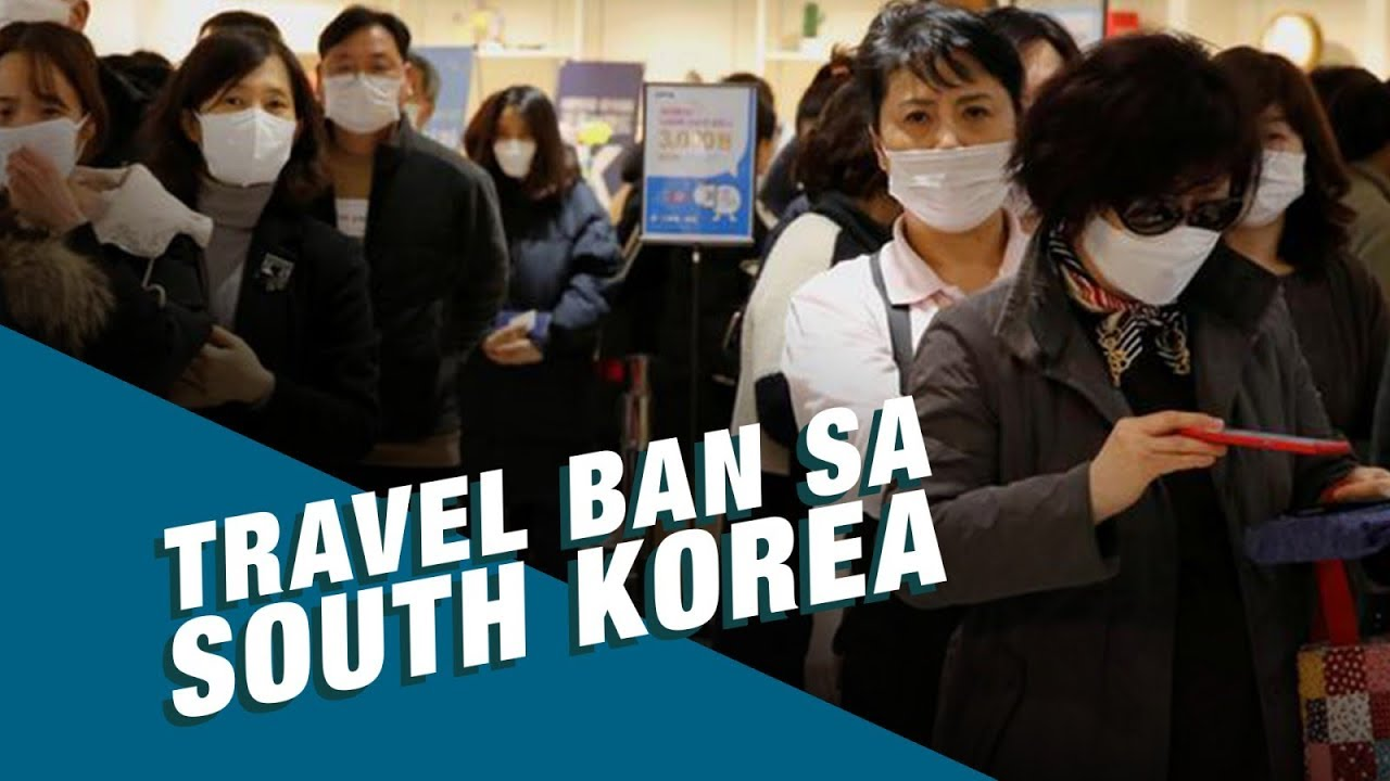 Stand for Truth: Partial travel ban sa South Korea, kasado na!