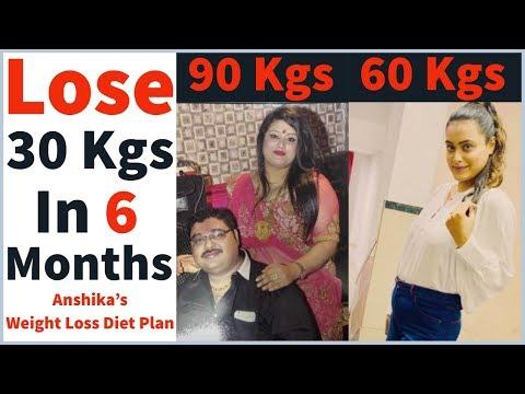 Anshika's Weight Loss Diet Plan | How to Lose Weight Fast 30 Kgs in 6 Months | Fat to Fab