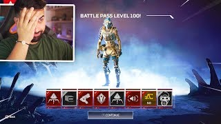 The Apex Legends Max Battle Pass REWARDS..