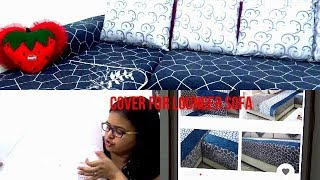 How to cover L Shaped /Lounger Sofa || How to Order Sofa Cover From AliExpress.com