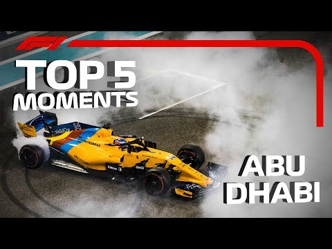 Top Five Moments | 2018 Abu Dhabi Grand Prix