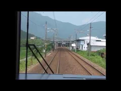 JR西日本 北陸本線 敦賀⇒福井 前面展望 JR West Hokuriku Main Line Tsuruga ⇒ Fukui Drivers View Führerstandsmitfahrt