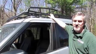 Install A BajaRack Expedition Roof Rack On Your LR3 video screen shot